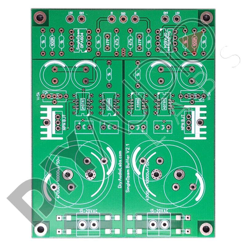 Audio Labs Mạch Buffer Opamp đơn v2.1